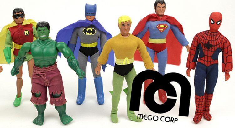 mego dc figures
