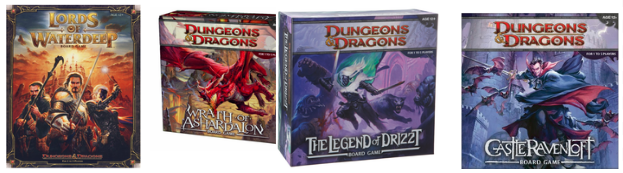New Editions Dungeons & Dragons