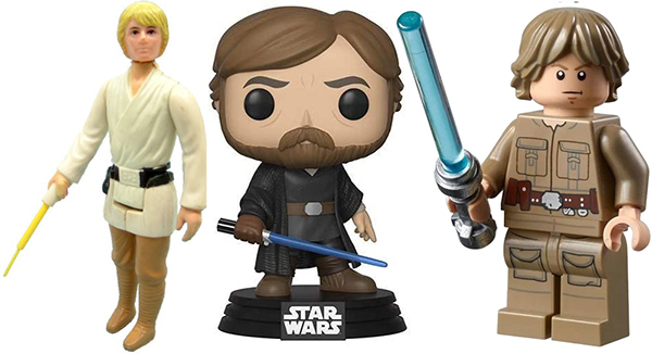 luke skywalker toys